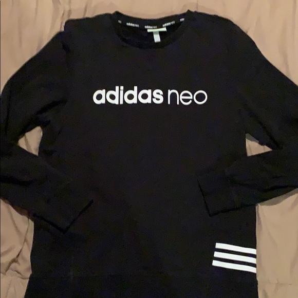 Women's Adidas neo black sweatshirt